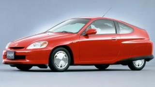 ホンダ インサイト (初代 ZE1 '99-'06):世界最高燃費を目指したハイブリッド・クーペ