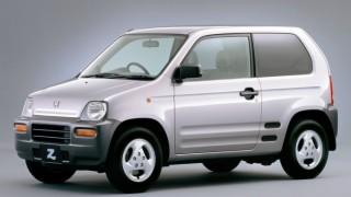 ホンダ Z (2代目 PA1 '98-'02):ミッドシップ+4WDで異彩を放った軽SUV