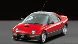 オートザム(マツダ) AZ-1 (PG '92-'95):自動車史上、最初で最後。ミッドシップターボのガルウイング軽