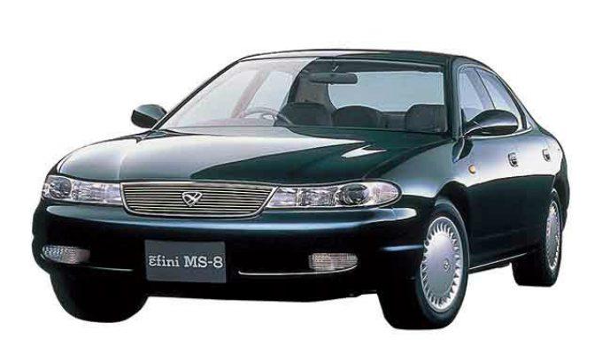 アンフィニ(マツダ) MS-8 (MB 1992-1997):内外装デザインに凝った4ドアハードトップセダン