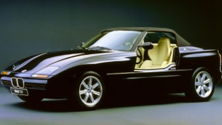 BMW Z1('89-'91):ドアが下に潜り込む独創的なFRオープン2シーター