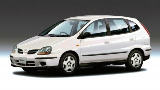 日産 ティーノ (V10 '98-'03):2列6人乗りのショート・ミニバン
