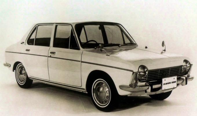 スバル1000 4Dr 1966-'69