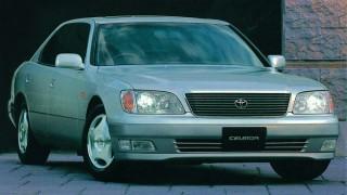 トヨタ セルシオ (2代目 F20 '94-'00):キープコンセプトで熟成の進んだ2代目