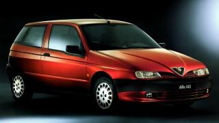 アルファロメオ 145 ('94-'01):33の後継モデルとしてデビューしたハッチバック