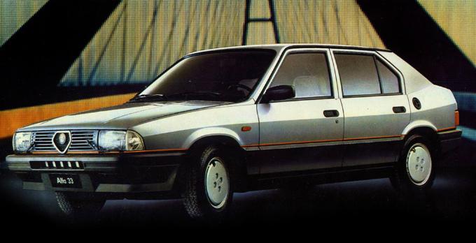 アルファロメオ 33 1983