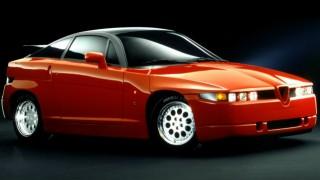 アルファロメオ SZ (2代目 '89-'91):27年ぶりにSZの車名を冠したスポーツクーペ