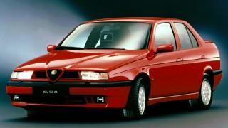 アルファロメオ 155 ('92-'97):75の後継モデルとして登場した小型FF/4WDセダン