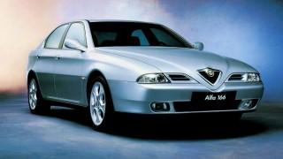 アルファロメオ 166 ('98-'08):164の後継となるFFフラッグシップセダン