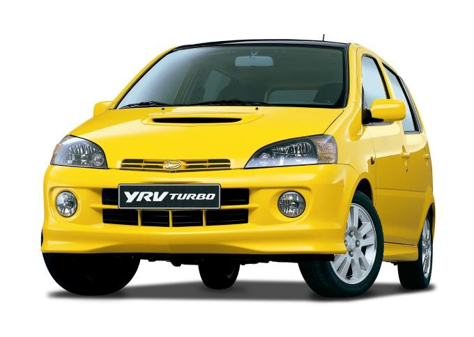 ダイハツ YRV ターボ 2001