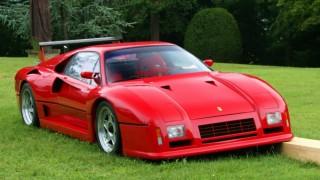 フェラーリ 288GTO Evoluzione ('86):288GTOベースのコンペティションモデル