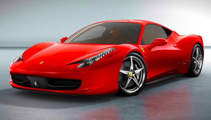 フェラーリ 458 italia 2009