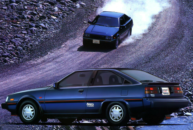 三菱 コルディア ターボ 1986