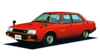 三菱 トレディア ('82-'87):ランサーEXの後を継ぐ小型FFセダン