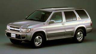 日産 テラノ (2代目 R50 '95-'02):全車3ナンバーサイズとなり駆動方式を多様化