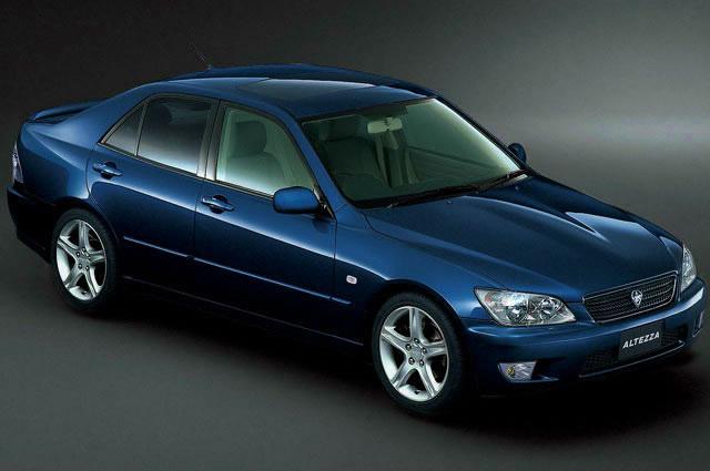 Toyota - Altezza - 2.0 i 16V RS200 (200 Hp) - Technical ...