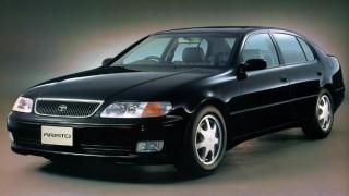 トヨタ アリスト (初代 JZS14 '91-'97):イタルデザインをベースとしたスポーティなセダン