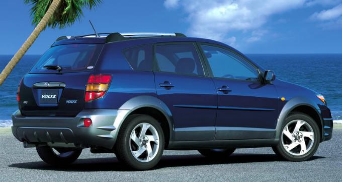 トヨタ ヴォルツ 2002