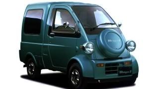 ダイハツ ミゼットⅡ ('96-'01):24年ぶりにミゼットの車名を受け継いだ軽貨物自動車 [K100P/100C]