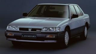 ホンダ レジェンド (初代 KA1-6 '85-'90):ホンダ初の3ナンバー車。プレミアムなセダンとハードトップ