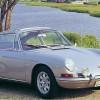 ポルシェ 911 (初代 901 '64-'74):356から基本レイアウトを踏襲し、より高性能に