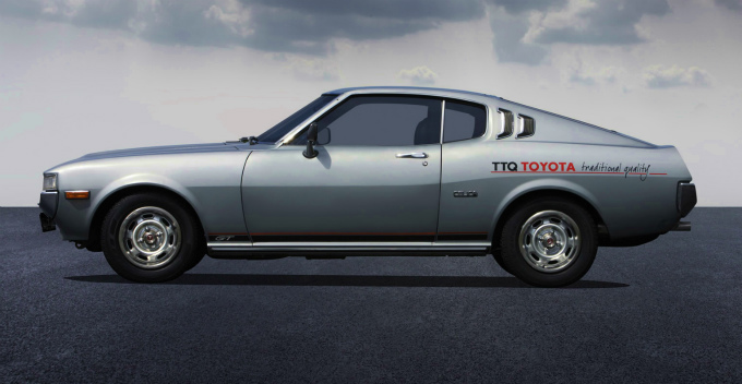 トヨタ セリカ 2000GT リフトバック EU仕様 1976