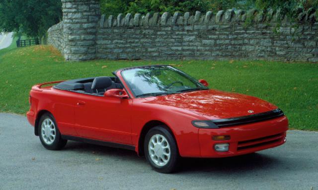トヨタ セリカ GTコンバーチブル 1991 海外仕様