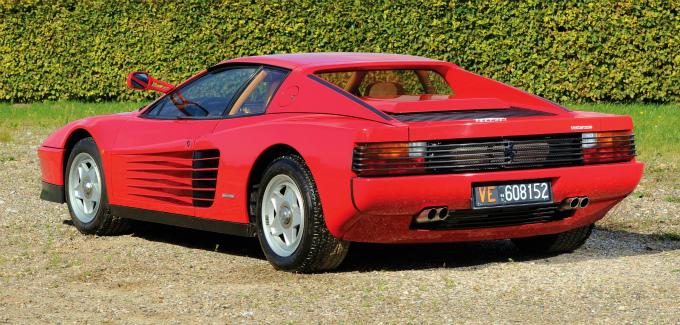 フェラーリ テスタロッサ 1984