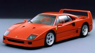 フェラーリ F40 ('87-'92):そのままレースに出られる市販車を具現化