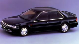 ホンダ アコード (4代目 CB1-4 '89-'93):エンジンを一新すると共に4WSやABSを設定