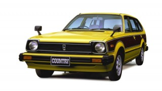 ホンダ シビックカントリー ('80-'83):同社初のステーションワゴンとして登場 [E-WD]