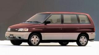 マツダ MPV (初代 LV '88-'99):アメリカンテイスト満載のFRミニバン