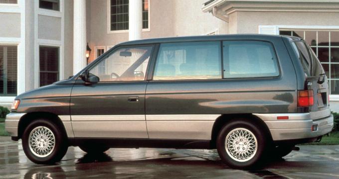 マツダ MPV 1990 輸出仕様