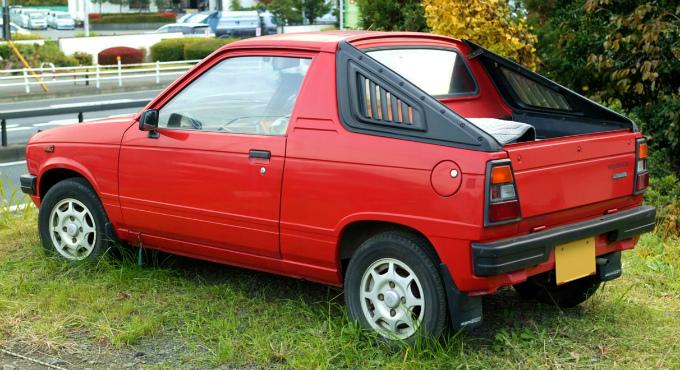 スズキ マイティボーイ 1983-'88 (出典:wikipedia.org)