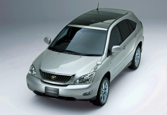 トヨタ ハリアー 2003 (出典:favcars.com)
