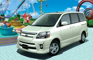 トヨタ ノア 2001 (出典:favcars.com)