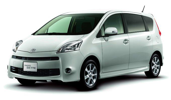 トヨタ パッソセッテ (2008-2012):ヒットには至らなかったミニミニバン [M502E/512E]