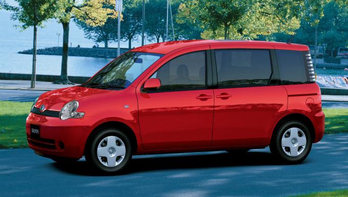 トヨタ シエンタ 2003
