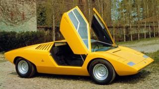 ランボルギーニ カウンタック LP500 ('71):衝撃的なショー発表も、そのままでは量産には至らず