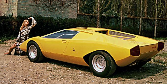 ランボルギーニ カウンタック LP500 1971