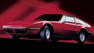 マセラティ インディ ('69-'76):ギブリの4シーターバージョンとしてデビュー