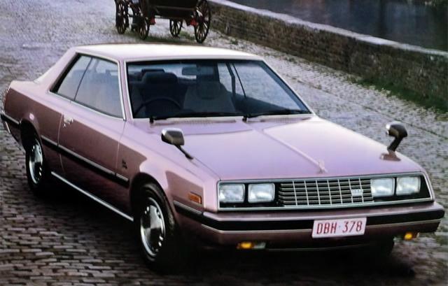 三菱 ギャラン ラムダ 1980 (出典:favcars.com)