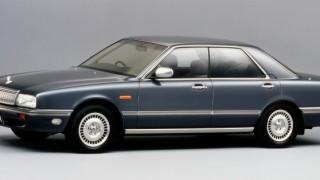 日産 セドリック/グロリア シーマ (初代 '88-'91):セドリックより上級の3ナンバー専用車として登場 [FPY31]