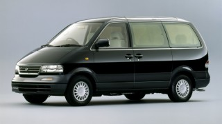 日産 ラルゴ (W30 '93-'99):車名からバネットが外れセミキャブオーバー型に