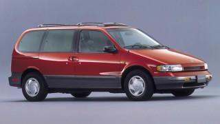 日産 クエスト (初代 V40 '93-'98):米国工場生産のプレミアム・ミニバン