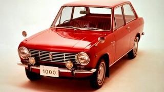 ダットサン(日産) サニー (初代 B10 '66-'70):新たなエントリーモデルとして登場しヒット
