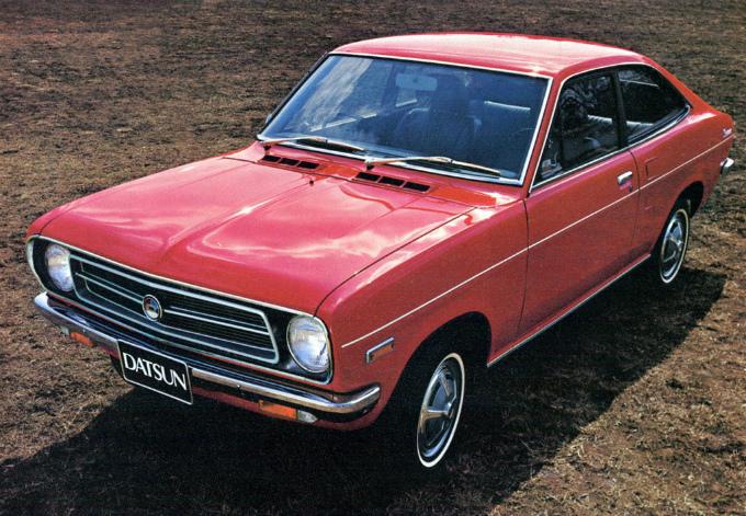 日産 サニー クーペ 1970