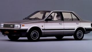 日産 サニー (5代目 B11 '81-'85):駆動方式をFFに変更すると共にエンジンを一新