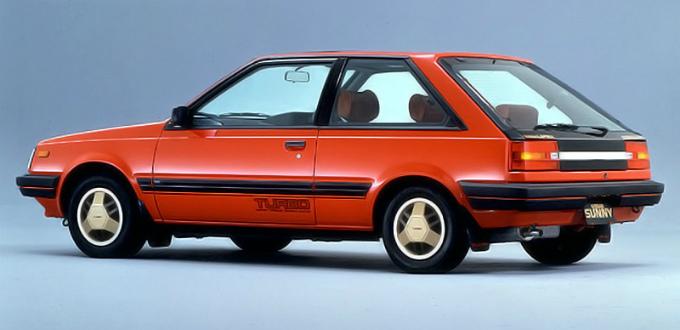 日産 サニー ターボ・ルプリ 3Dr 1982