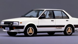 日産 サニーターボルプリ ('82-'85):歴代サニー初のターボエンジンを搭載したセダンとハッチバック [B11]